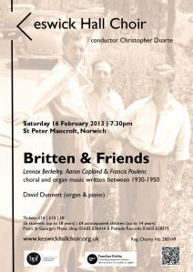 Britten leaflet